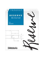 D'Addario Reserve Bb Clarinet Reeds Box of 10 2.0 2.5 3.0 3.5 3.5+ 4.0 4.0+ 4.5