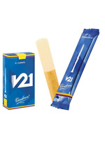 Vandoren V21 Bb Clarinet Reeds Box of 10 Different Hardnesses