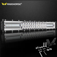New 17 Inch 576W Osram LED Light Bar Combo Offroad Driving 4WD Truck ATV 16