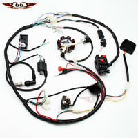 COMPLETE ELECTRICS ATV QUAD 200 250 300CC CDI COIL WIRING HARNESS ZONGSHEN LIFAN
