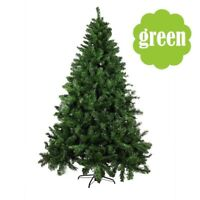 5/6/7ft Green PVC Artificial Christmas Holiday Tree w/Stand Small- Big