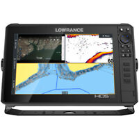 LOWRANCE HDS-12 LIVE W/ACTIVE IMAGING 3-IN-1 TM C-MAP PRO CHART  000-14428-001