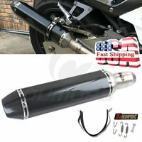 470mm Universal Exhaust Muffler Pipe with DB killer Slip 51mm for Motorcycle ATV