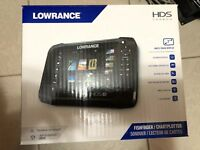 NEW Lowrance HDS 7 Carbon Touch Fishfinder GPS FREE SHIPPING!!!