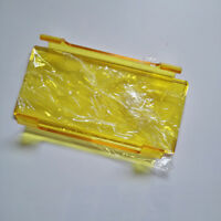 6quot; INCH SNAP ON YELLOW COVER FOR OFF ROAD ATV LED LIGHT BAR 6#x27;#x27; 52#x27;#x27;INCH