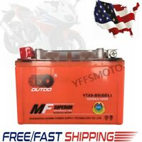 YTX9-BS 12V Gel Battery CAA 120 for Honda TRX 125 250 300 400 400EX Sportrax ATV