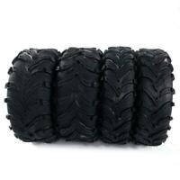 four of  26x9-12 26x11-12 Front rear left and right ATV Tires  6ply Rubber bias