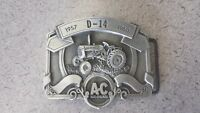 Allis Chalmers D14  1957 Tractor Pewter Belt Buckle Limited Edition 187/750