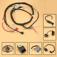 GY6 150CC ATV Go kart WIRE HARNESS ASSEMBLY CDI Switch Electric New