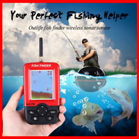 Outlife Smart Portable Hand Held Fish Finder with Wireless Sonar Sensor NEW US
