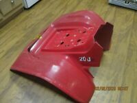Honda ATC 200x Rear Fenders Red 83