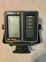 EAGLE Z-7200 LCG RECORDER DEPTH FINDER AND SWIVEL MOUNT BRACKET