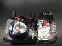 Abu Garcia Black Max Low Profile Baitcast Reel-Left Hand Retrieve-BMAX3-L NEW!