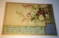 Antique Victorian American Mac Master's Bakery Christmas Advertising Trade Card!