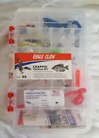 Eagle Claw Crappie Tackle Kit 55 Pieces Including Tackle Box #TK-CRPPE1 New!