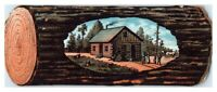 Wisconsin Central Railroad German Immigrant Die-Cut Victorian Trade Card *VT18