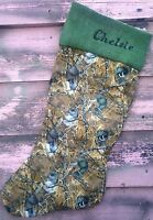 Camouflage Duck Christmas Stocking Personalized Chelsie