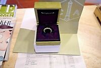 Van Cleef and Arpels 18K Yellow Gold quot;Perléequot; variation Ring Sz 6 all papers
