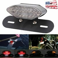 16 LED Motorcycle Quad ATV Turn Signal Brake License Plate Integrated Tail Light