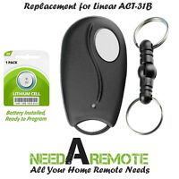 For Linear ACT 31B Mini Remote Control LD033 LD050 LS050 Garage Door Key Chain $12.95