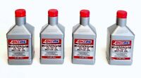 Amsoil Synthetic Sae 10W-40 4 Bottles ATV TV Engine Oil Resists oxidation_hd