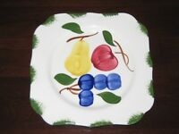 Blue Ridge Southern Potteries Square Bountiful Bread and Butter Plate