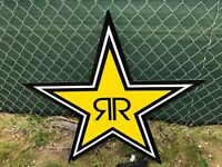 ROCKSTAR ENERGY DRING STAR LIGHTED SIGN