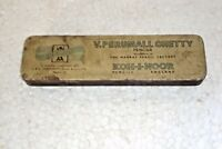Vintage Very Rare V. Perumall Chetty Pencils Box Brand Litho Tin Box England