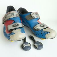 Bicycle clip-in shoes SIDI EUROPEAN SIZE 40 PLUS PEDALS
