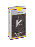 Vandoren V12 Bb Clarinet Reeds Box of 10 Deep Rich Sound Excellent Quality