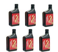 6 Klotz Super Techniplate 2-Stroke Oil 32 oz. Bottles -MX  Two Stroke ATV