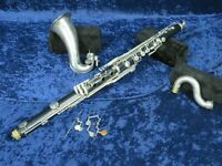 **Yamaha YCL-220 Plastic Bass Clarinet Ser#0291 Complete but in Parts**