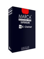 Marca Supérieure Reeds Eb Clarinet Box of 10 Professional Different Hardnesses S