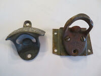 Vintage Coca Cola Vending Machine Bottle Openers - Lot of 2 -