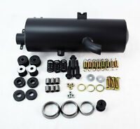 Replacement Exhaust Muffler Silencer for Polaris ATV Sportsman 500 4X4 1996-2001