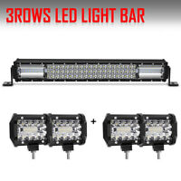 2019 NEWEST 22INCH LED WORK LIGHT BAR +4