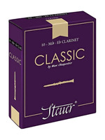 Steuer Classic Eb Clarinet Reeds Box of 10 Various Hardnesses French Cane Var Re