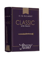 Steuer Classic Bb Clarinet Reeds Box of 10 Various Hardnesses French Cane Var Re