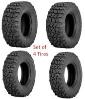 Sedona Coyote Tire Set of 4 Tires ( 2 ) 25x10-12 ( 2 ) 25x8-12 ATV UTV 6 ply