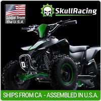 SkullRacing Gas Powered Kids Mini ATV Four Wheeler 50RR (Green) *FREE SHIPPING*