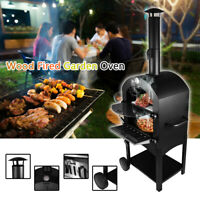 Wood Fired Garden Oven Includes Pizza Stone. From Wood Pellet Pizza Oven US SHIP
