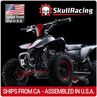 SkullRacing Gas Powered Kids Mini ATV Four Wheeler 50RR (Red) *FREE SHIPPING*