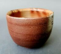 Vintage Studio Art Pottery Footed Tea Bowl Red Clay R