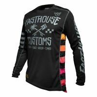 2020 FASTHOUSE HAWK MOTOCROSS MX ATV JERSEY BLACK **CHOOSE SIZE