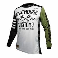 2020 FASTHOUSE HAWK MOTOCROSS MX ATV JERSEY OLIVE **CHOOSE SIZE