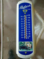 Vintage Packard Motor Cars Wall Thermometer - Auto Advertising Tin Sign USA
