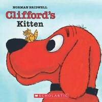 Clifford#x27;s Kitten Clifford 8x8 Paperback By Bridwell Norman GOOD $3.54