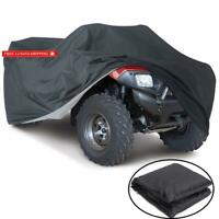 Vvhooy All Weather Protection Waterproof Heavy Duty Atv Cover Black Universal Si