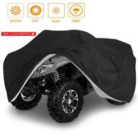 Vvhooy Waterproof Heavy Duty Atv Cover 210D All Weather 4 Wheeler Quad Covers Pr