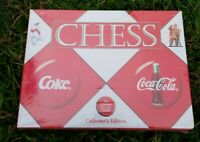 Coca Cola VS. Coke Chess Set Collector's Edition Set - New in Package sealed